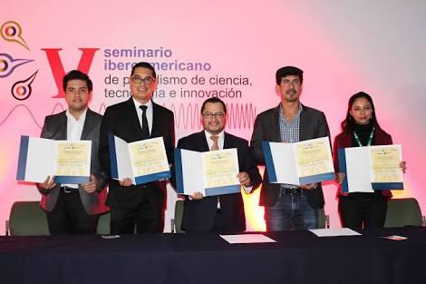 Se anuncia a los ganadores del Premio Conacyt de Periodismo de Ciencia, Tecnología e Innovación 2018