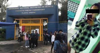 Secuestran y asesinan a estudiante del CCH Oriente