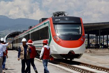 AMLO terminará Tren de Toluca