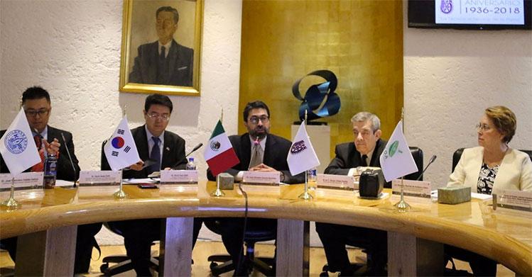 IPN y Corea intercambian conocimientos en el sector aeroespacial