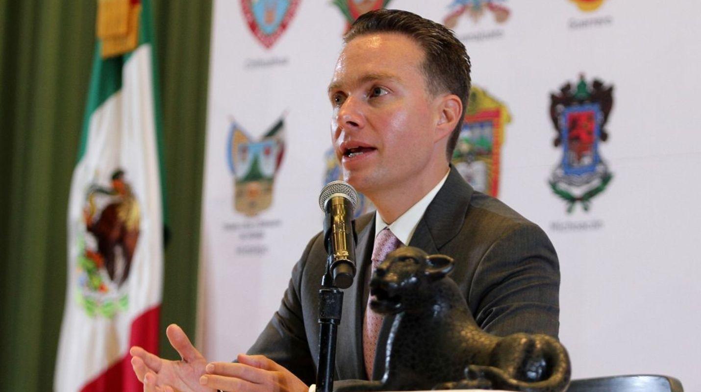 Manuel Velasco ya está en Chiapas