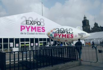 Con el objetivo de impulsar el desarrollo y la productividad inaugura GCDMX EXPO PYMES 2018