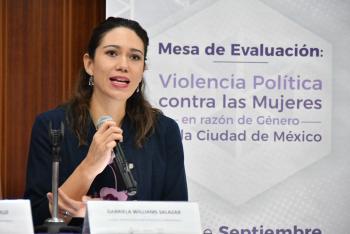 Evaluación sobre Violencia Política contra Mujeres en razón de género en Proceso Electoral 2017-2018 en la CDMX