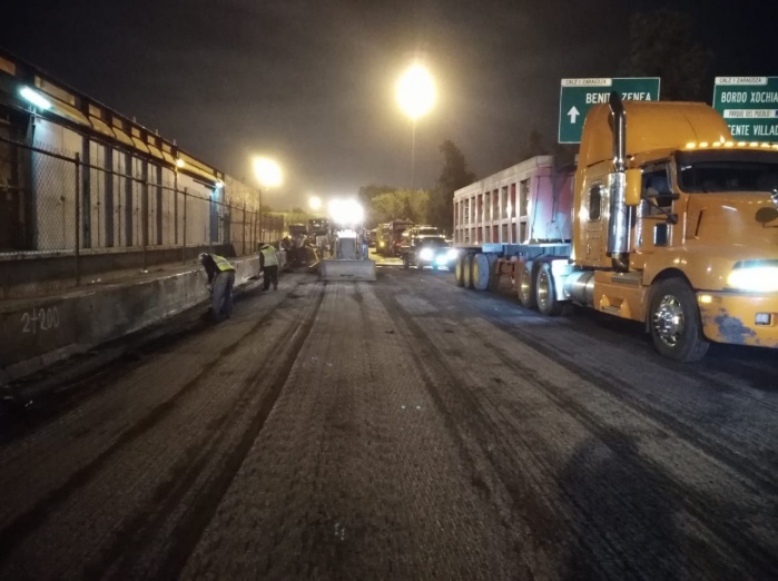 Carriles centrales de Calzada Ignacio Zaragoza serán cerrados por mantenimiento de carpeta asfáltica