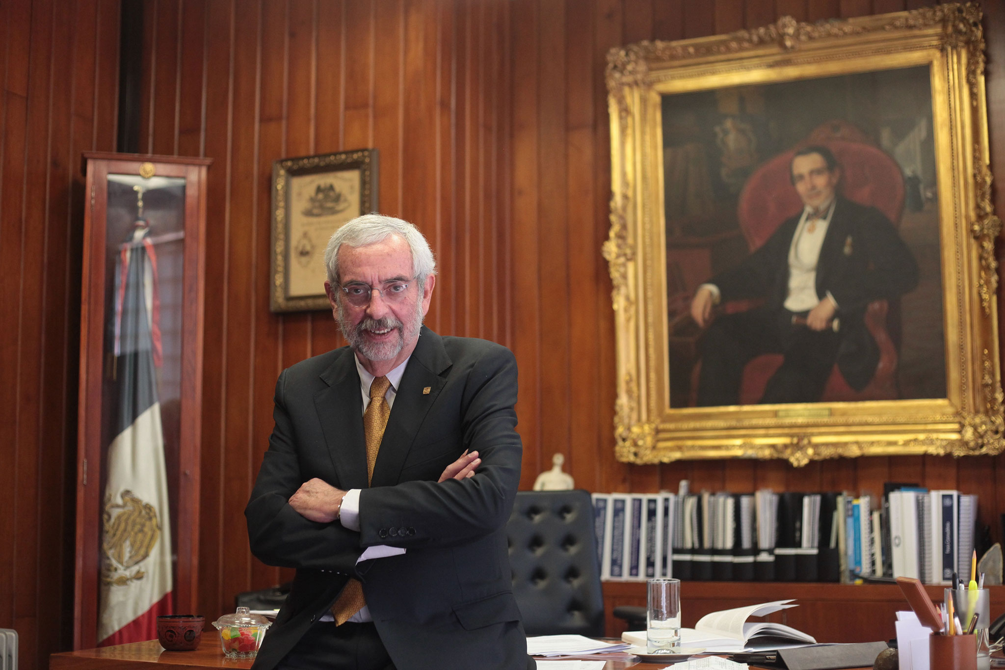 Directores de la UNAM apoyan a Graue