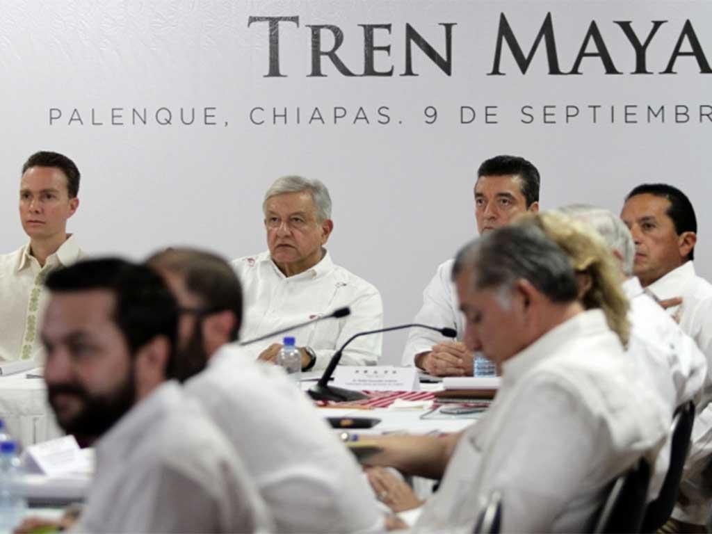 Gobernadores apoyarán creación del Tren Maya