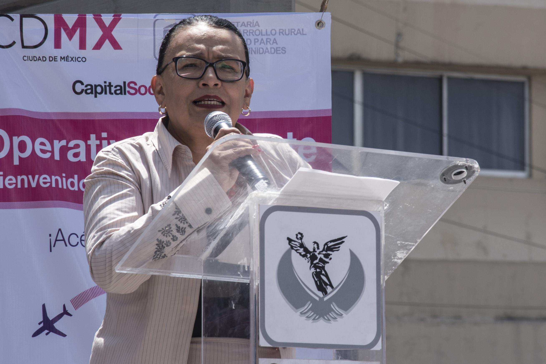 Rosa Icela Rodríguez: Proceso de transición en Ciudad de México con 80% de avance