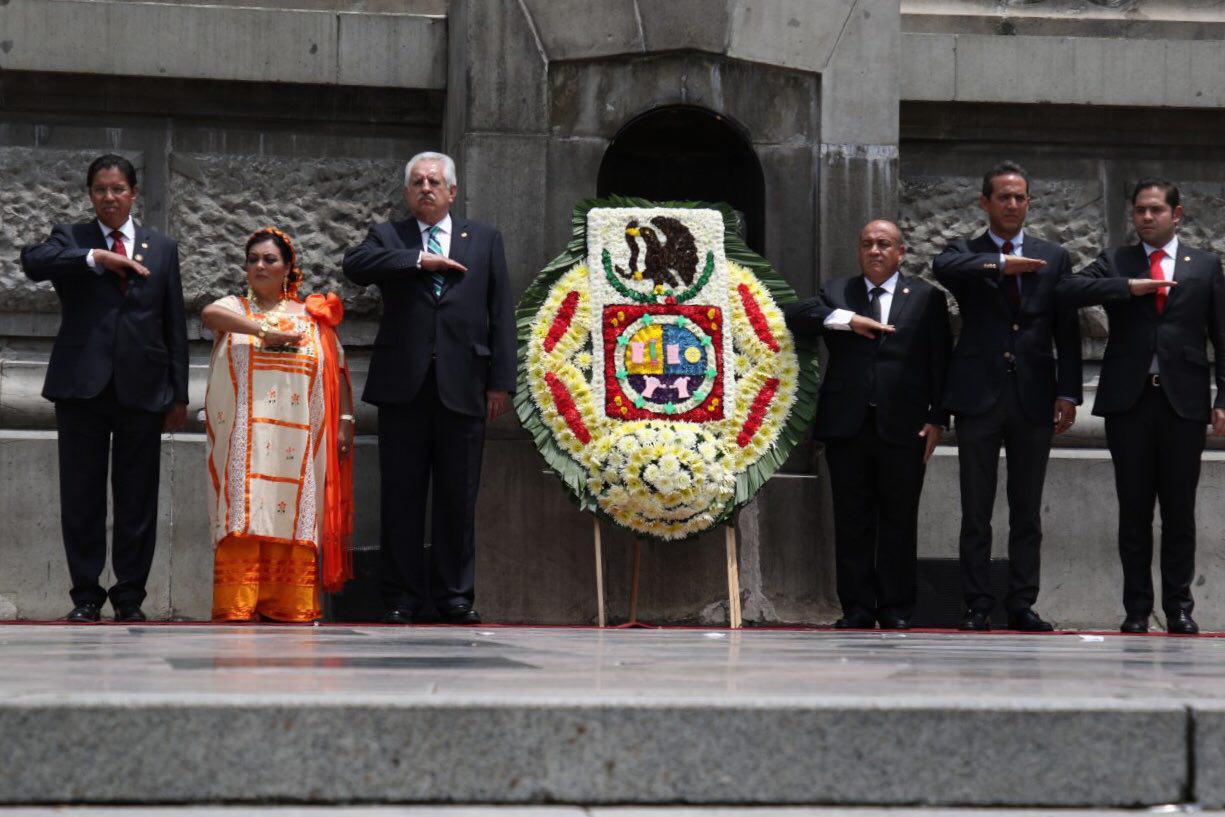 Llama Jefe Delegacional en Cuauhtémoc a continuar luchando por los ideales de la Independencia