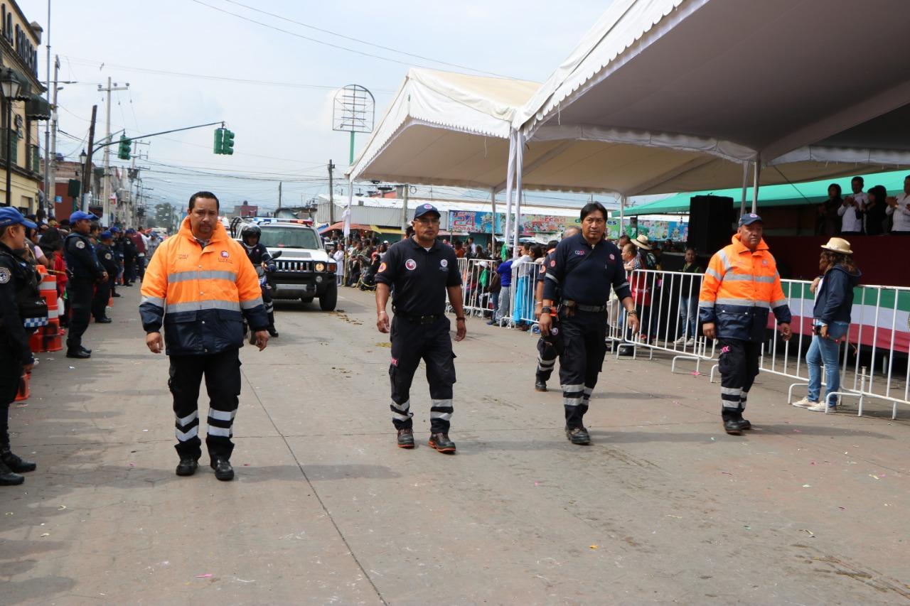 REPORTA PROTECCIÓN CIVIL DE XOCHIMILCO SALDO BLANCO DURANTE FESTEJOS PATRIOS