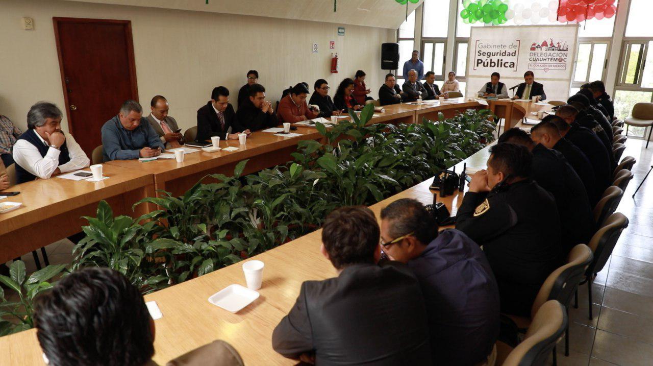 Exhorta Jefe Delegacional a intervención coordinada para inhibir actos delictivos como el de Garibaldi