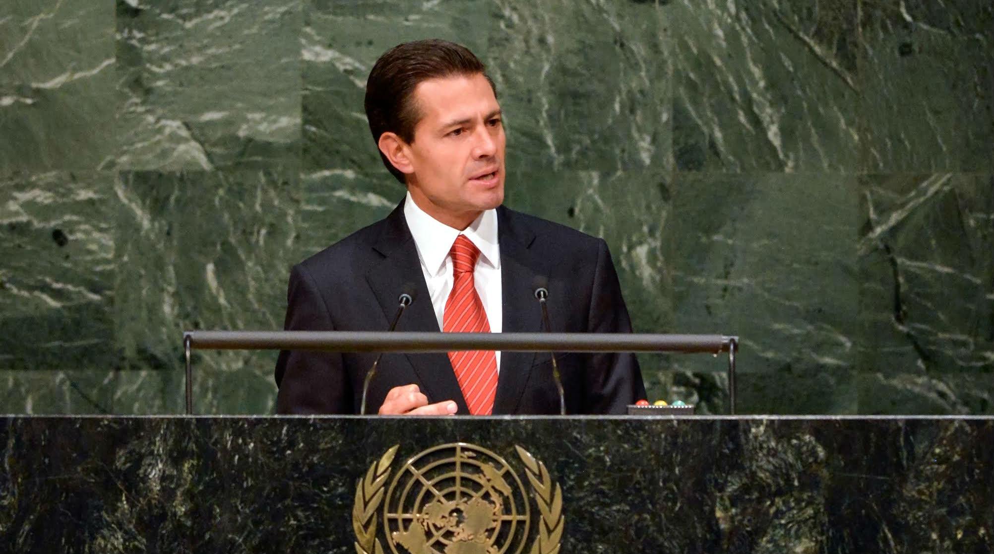 Segob informa que el Presidente EPN viajará a la ONU