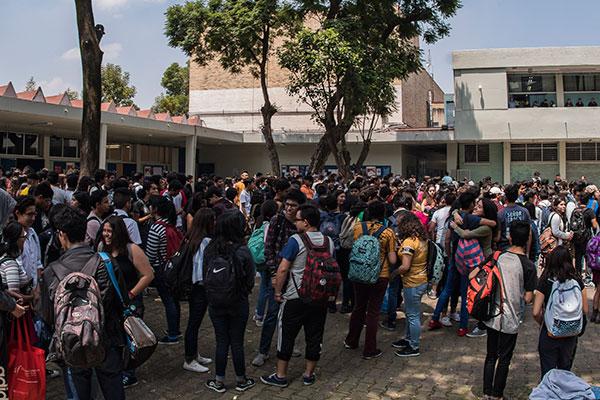 Universitarios, triste panorama