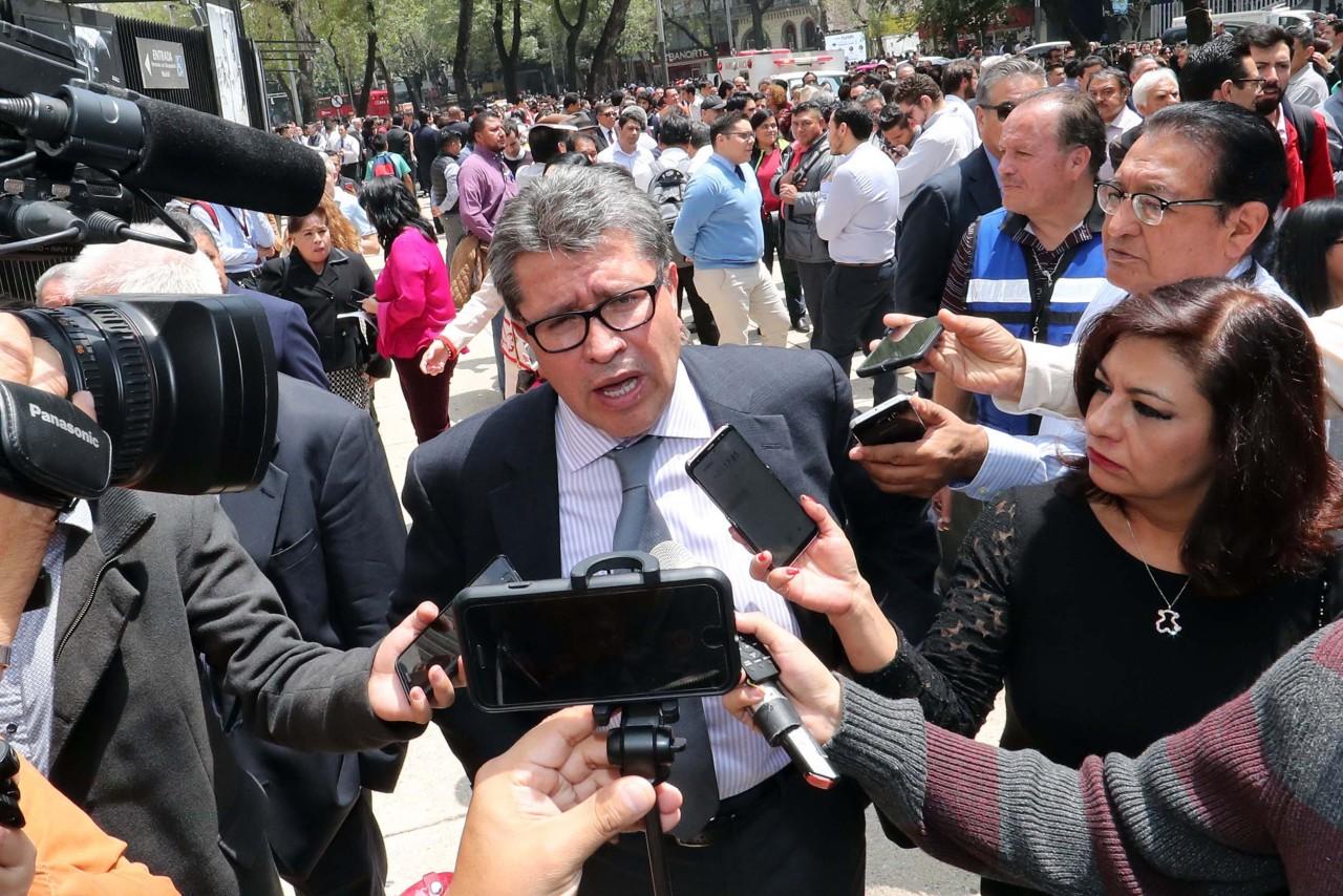 Anuncia Ricardo Monreal auditoría para conocer destino de recursos donados por el Senado a damnificados del 19S
