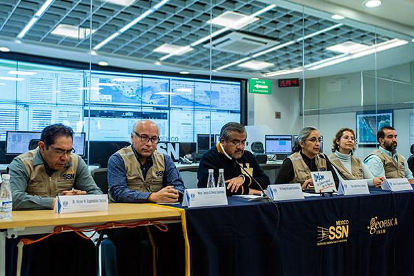 Rigor científico y respuesta inmediata del Servicio Sismológico Nacional de la UNAM, en sismos de 2017