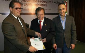Mauricio Farah renuncia como secretario general de San Lázaro