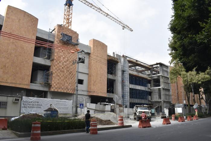 Cocluye SOBSE colocación de prefabricados en el primer Tribunal de Justicia para Adolecentes de la CDMX