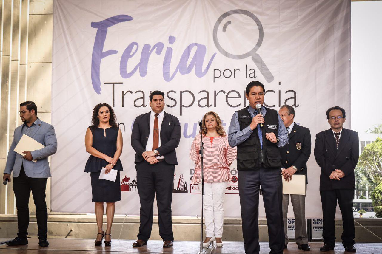 Realizan Feria de la Transparencia en Cuauhtémoc