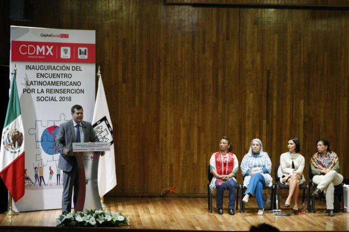 Inaugura GCDMX Encuentro Latinoamericano por la Reinserción Social