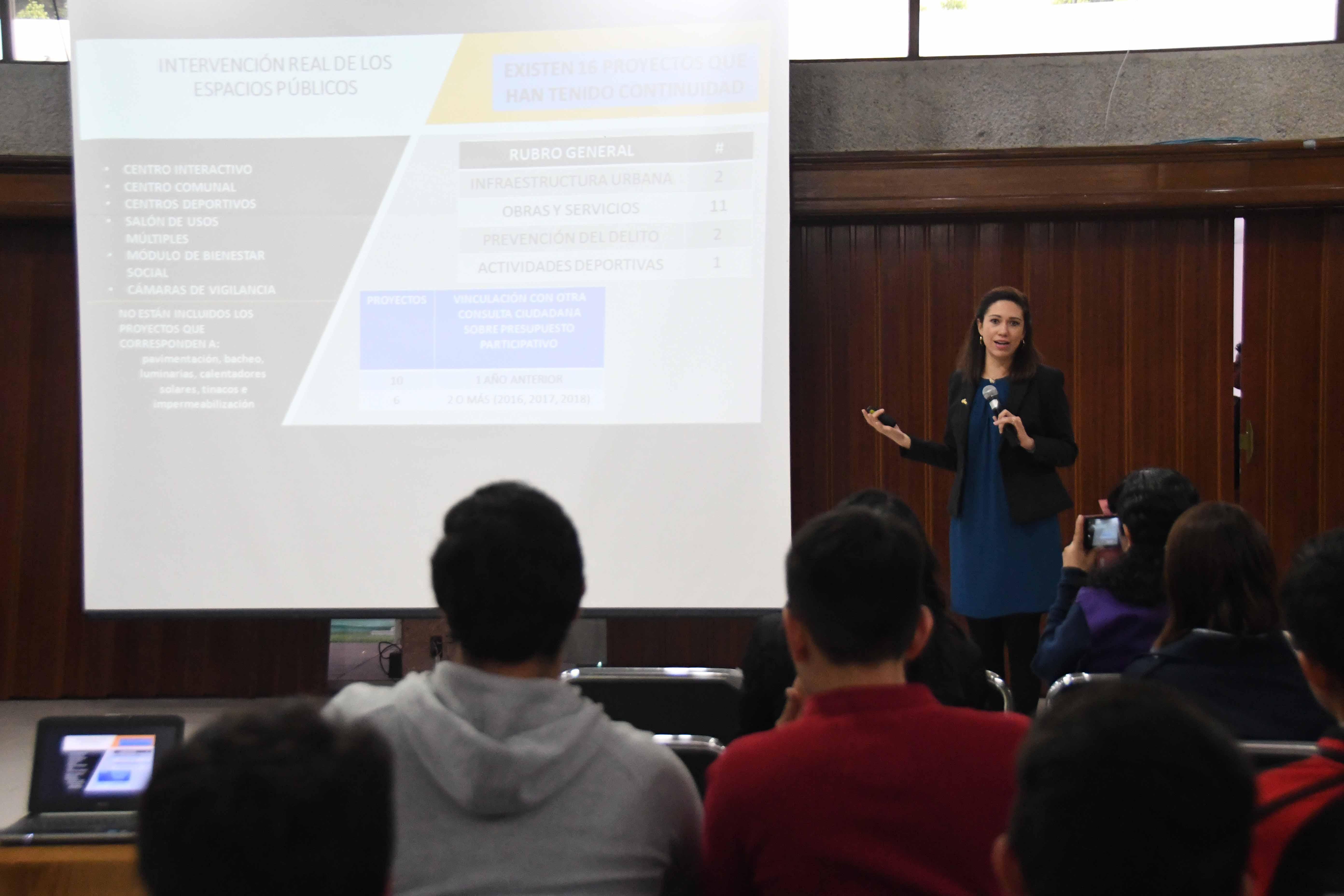 Promueve IECM mecanismos de Participación Ciudadana con la comunidad universitaria del ITESM