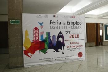 Ofertarán 25 empresas 320 vacantes en Feria Nacional de Empleo para comunidad LGBTTTI en CDMX