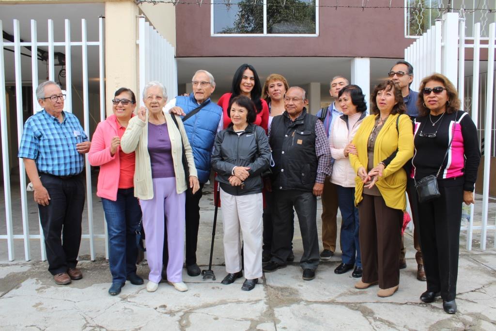ENTREGÓ DIONE ANGUIANO EDIFICIO REPARADO Y REFORZADO EN LOMAS ESTRELLA