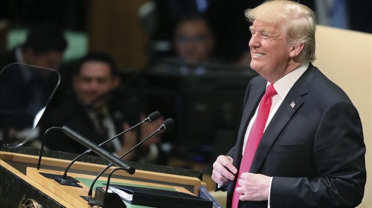 Trump genera risas ante la ONU