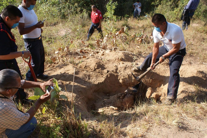 Ahora en Reynosa, hallan restos óseos