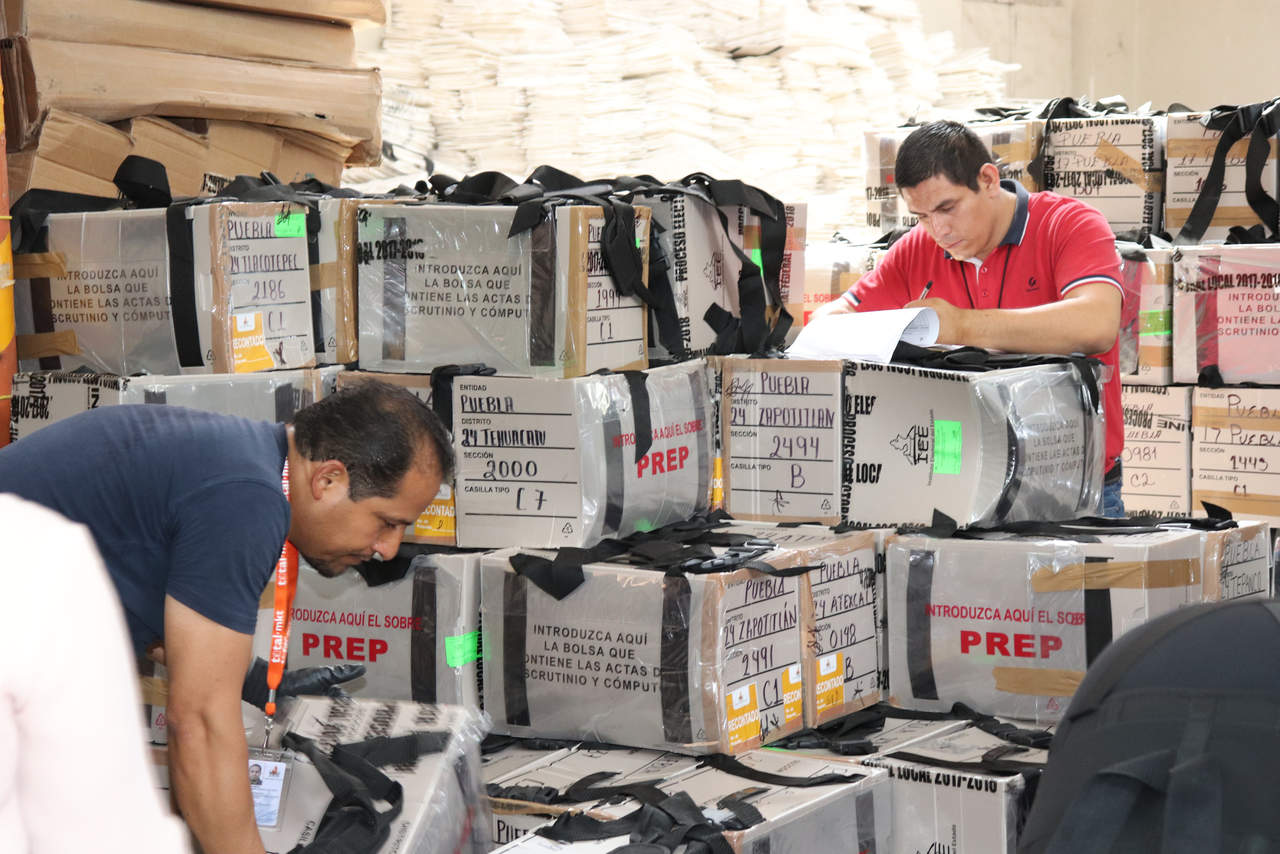 Avanza escrutinio de votos en Puebla con seis distritos