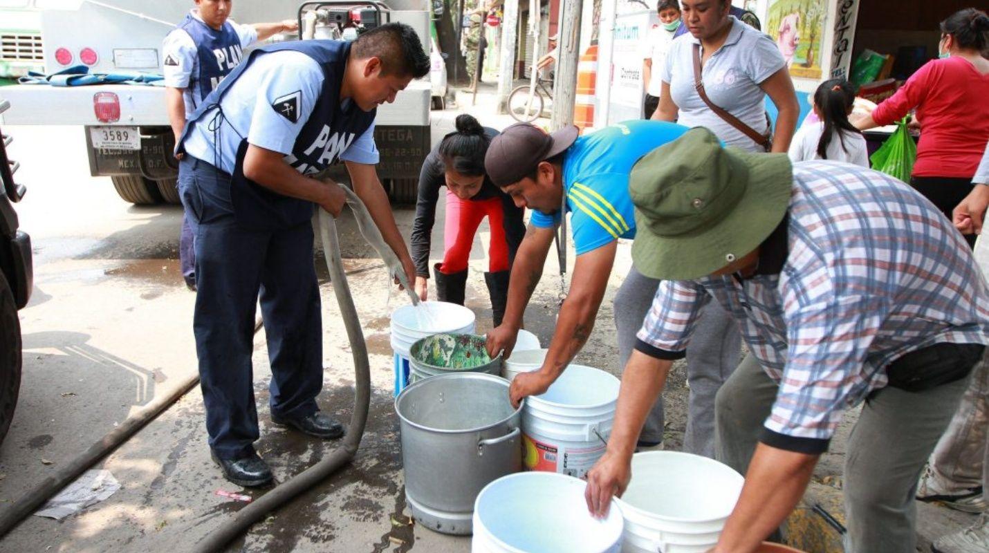 Habrá agua en la Ciudad de México sólo para el 2019