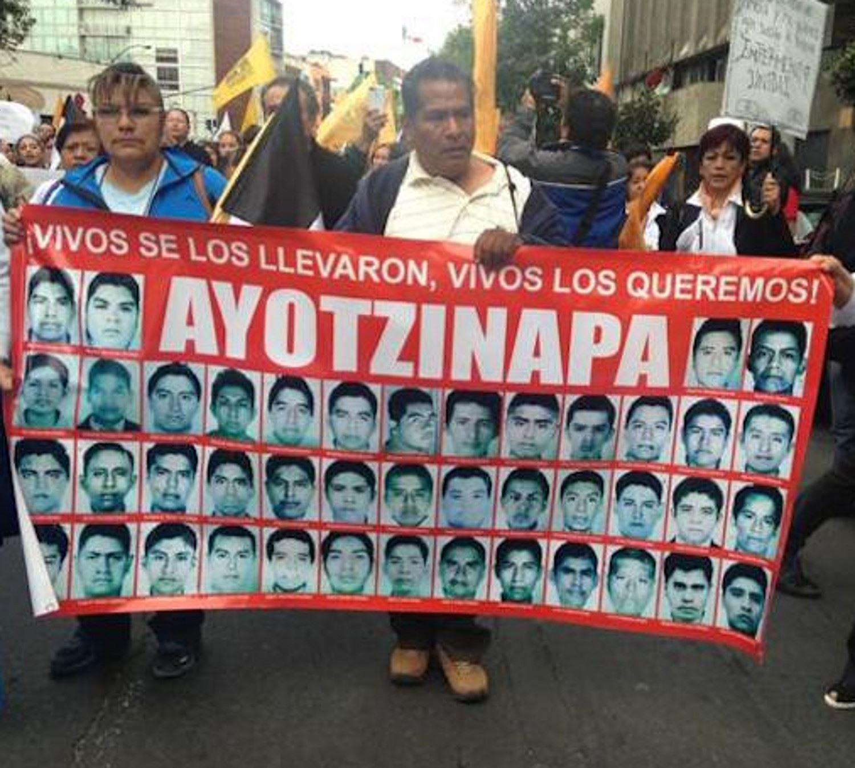 EEUU pide a México continuar caso Ayotzinapa