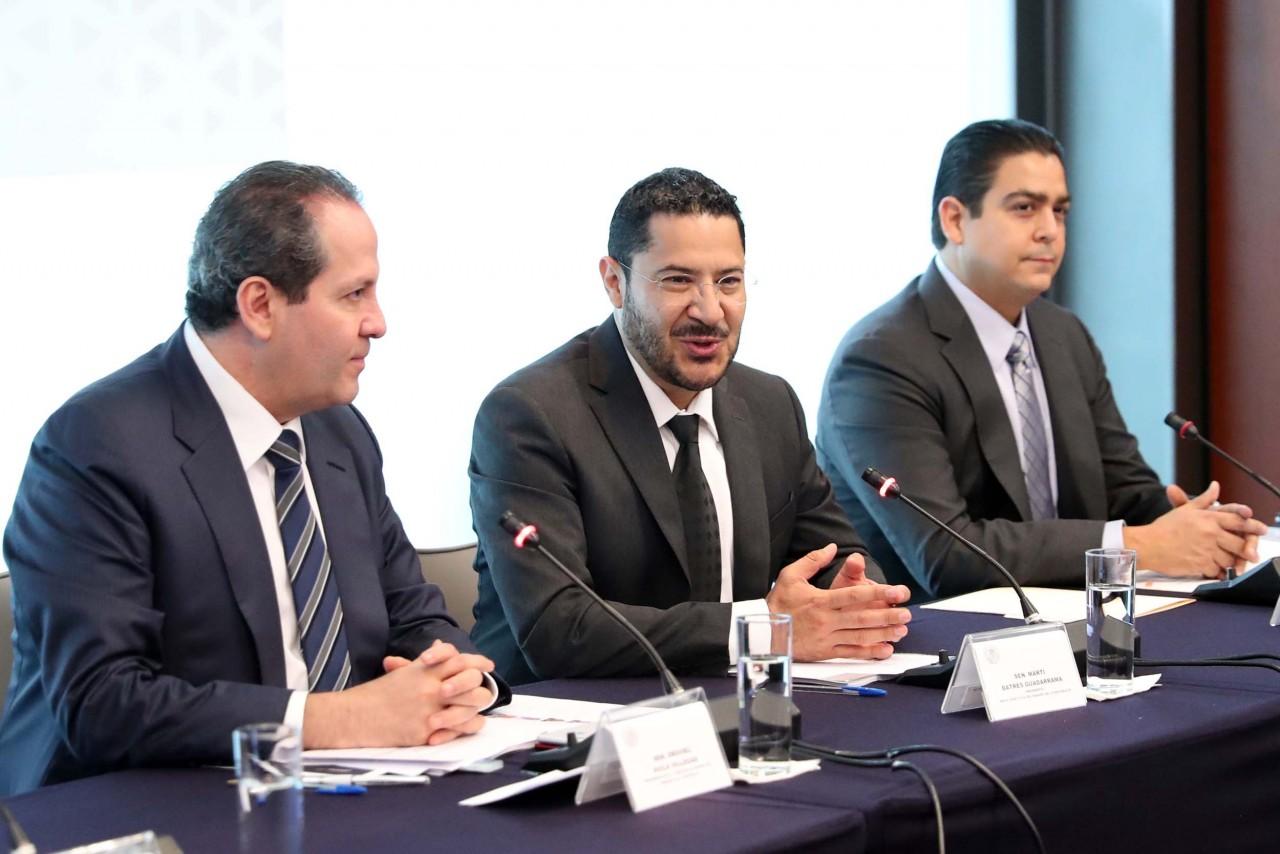 Comisión de Marina puente sustancial entre Senado y Armada de México: Martí Batres