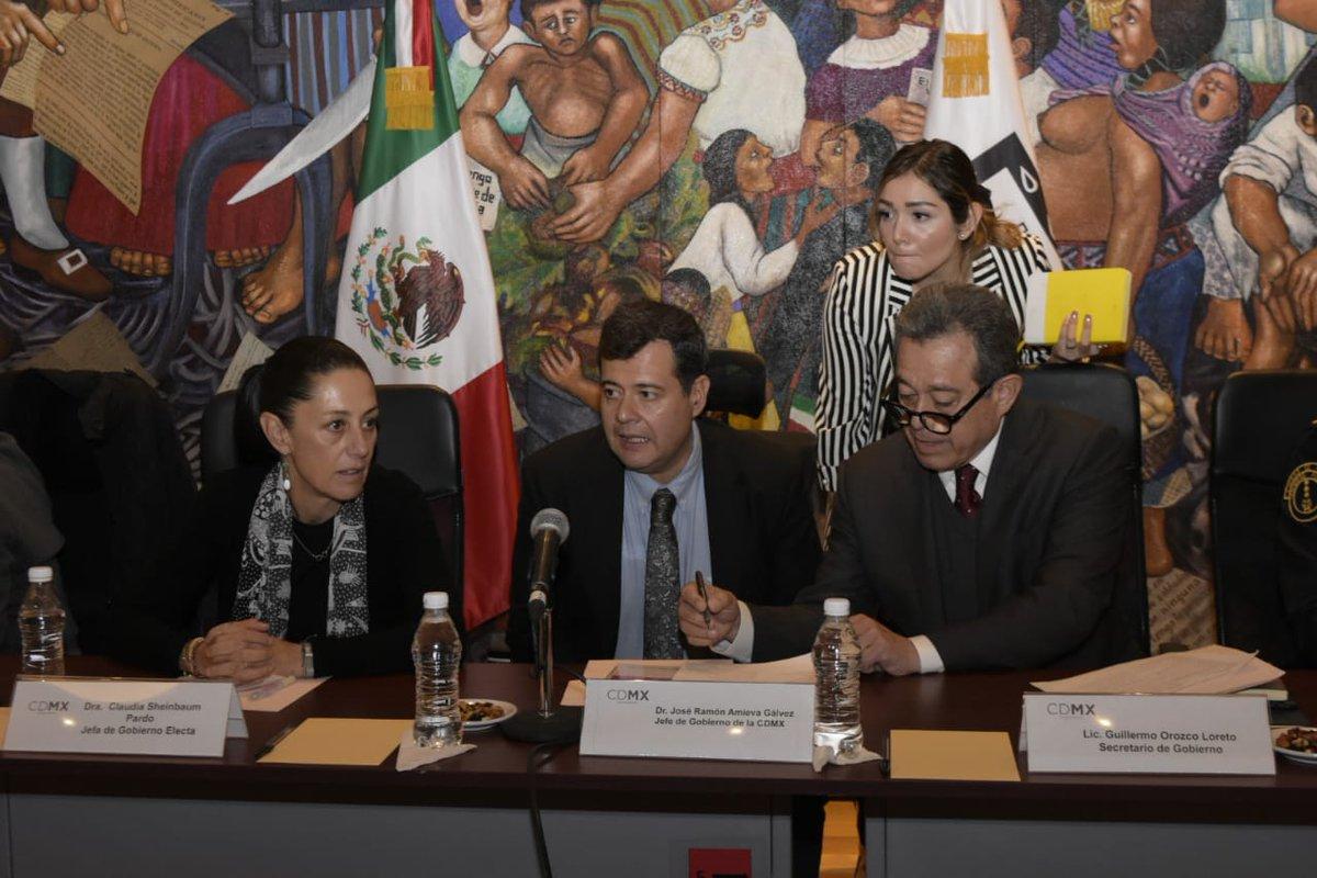 Amieva y Sheinbaum se reúnen con alcaldes