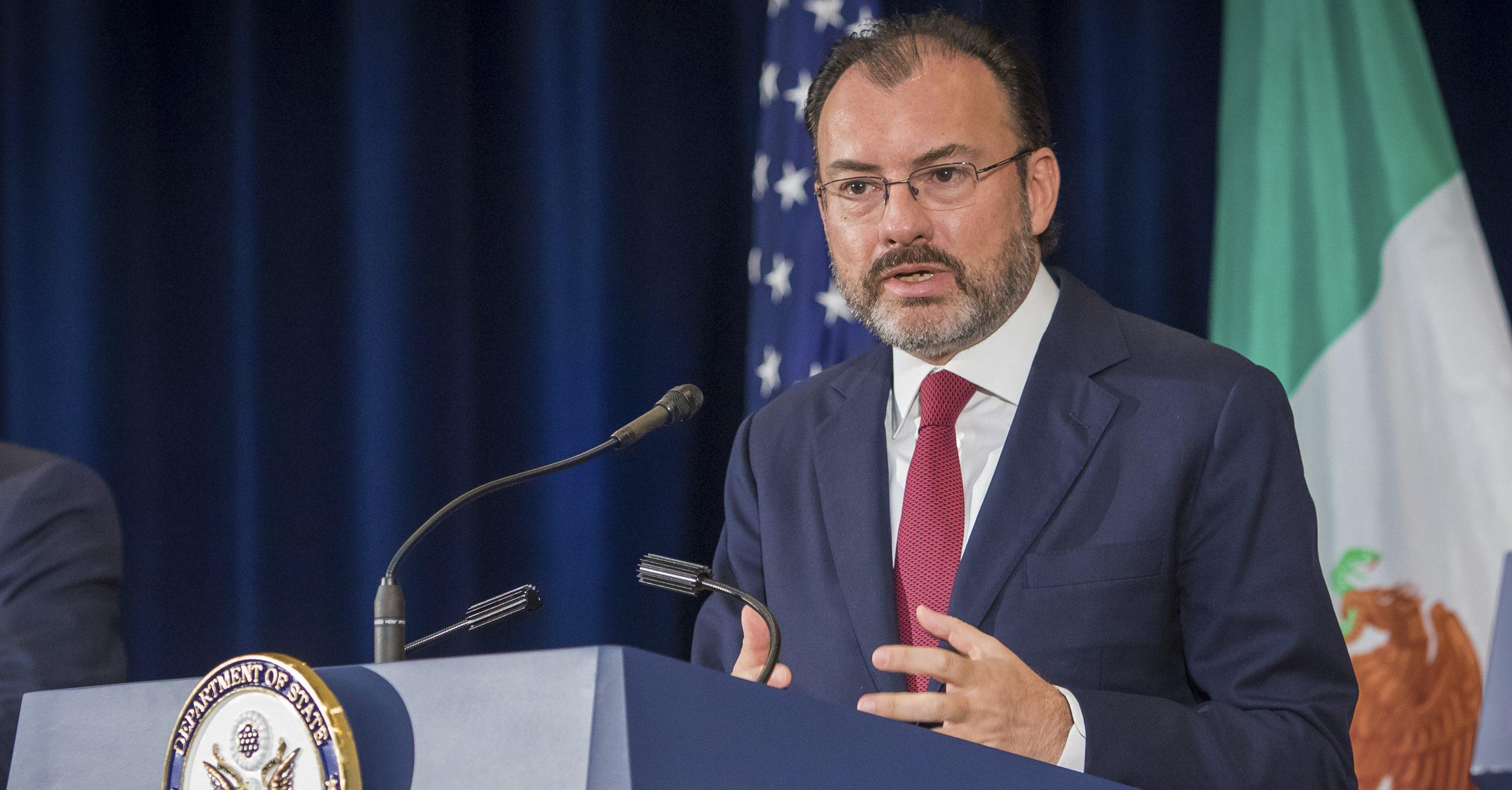 Senado tiene la última palabra sobre acuerdo trilateral: Videgaray