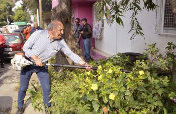 Arranca el programa Sábados Comunitarios en la colonia Zapata Vela