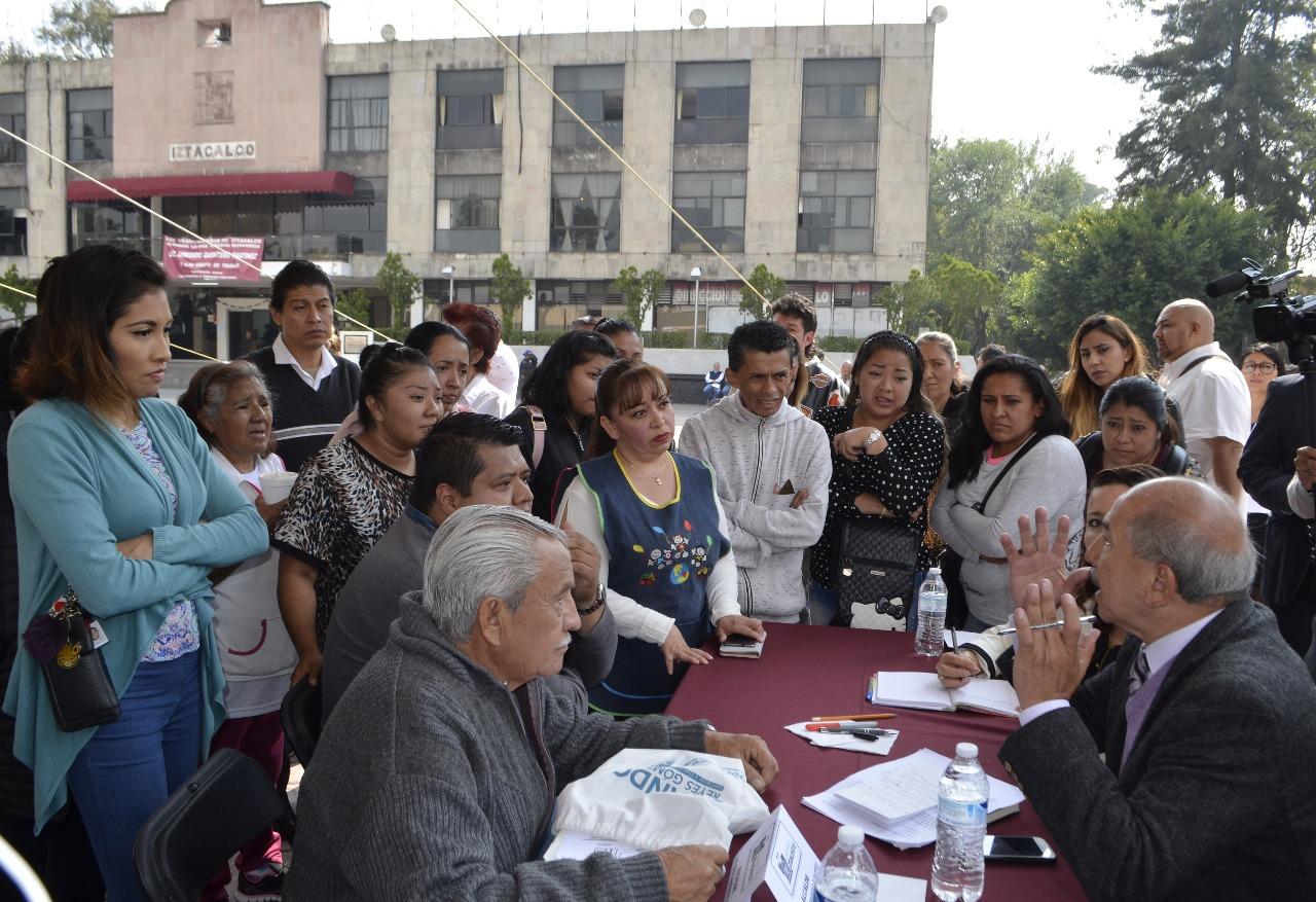 Armando Quintero inaugura su programa Lunes del Pueblo en la Explanada de Iztacalco