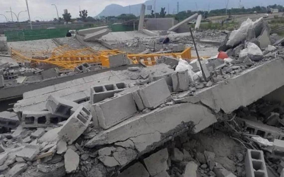 Colapsa edificio en Monterrey; van 7 muertos, 15 heridos y 9 desparecidos