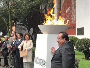 Conmemora Tlalpan el 50 Aniversario de las Olimpiadas México 68