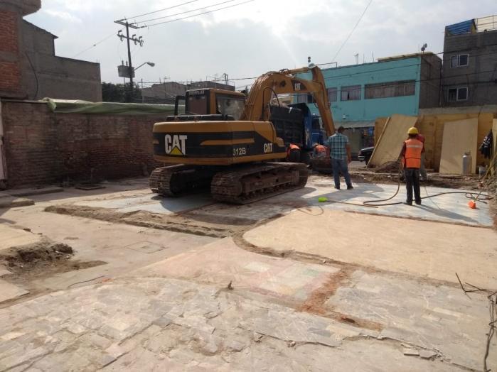 SOBSE avanza en la mitigación de riesgo en inmuebles dañados por el sismo del 19S