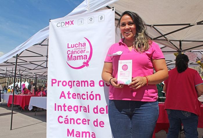 Brinda INMUJERES CDMX acceso gratuito a estudios de mastografía