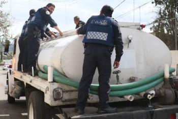 Afirma Sacmex que no habrá pipas del gobierno durante el corte de agua