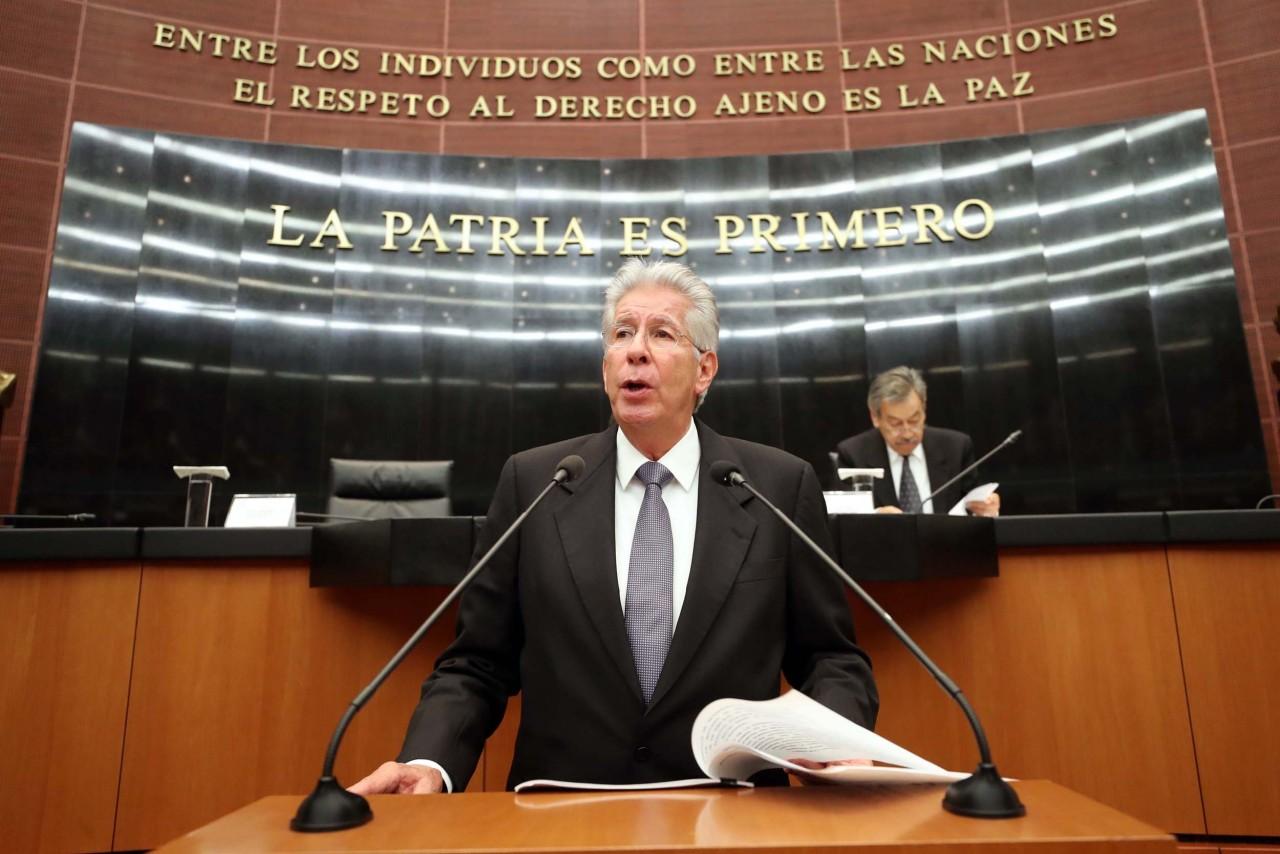 Responde Ruiz Esparza a senadores sobre NAICM, tren interurbano, OHL, Paso Exprés y casos de corrupción
