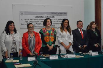 COMPARECEN LOS TITULARES DE SEDEMA Y PAOT ANTE CONGRESO DE LA CDMX