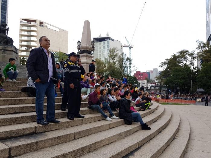 Sin incidentes concluye el desfile celebración por el Día de Muertos 2018