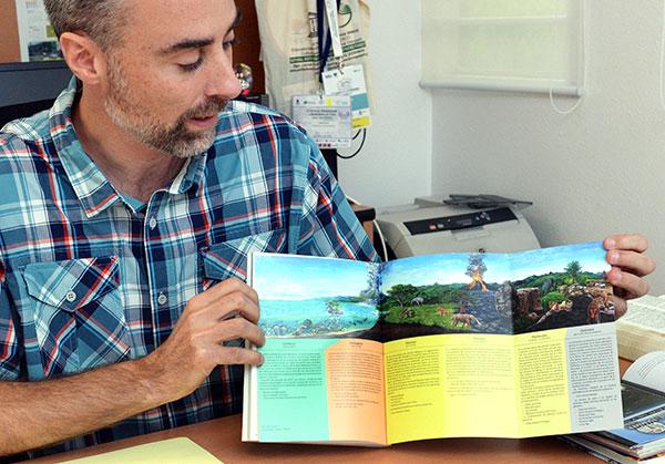 Publica la UNAM Guía de campo del Geoparque de la Comarca Minera