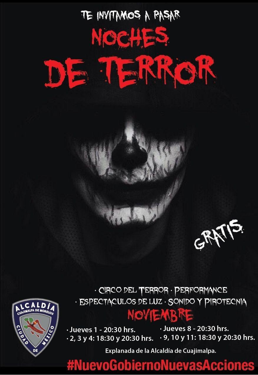 El Circo del Terror llega a Cuajimalpa
