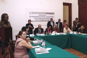 Las políticas culturales de la CDMX tienen como centro contribuir a la pacificación del país: Eduardo Vázquez