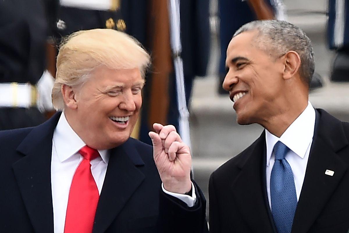 Obama se enfrenta a Trump
