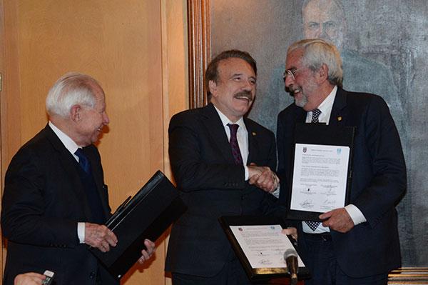 Signan alianza estratégica UNAM, IPN y asociación civil, para el cuidado del agua en el Valle de México
