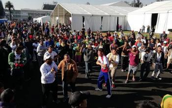 En Iztacalco albergue para migrantes al límite de su capacidad