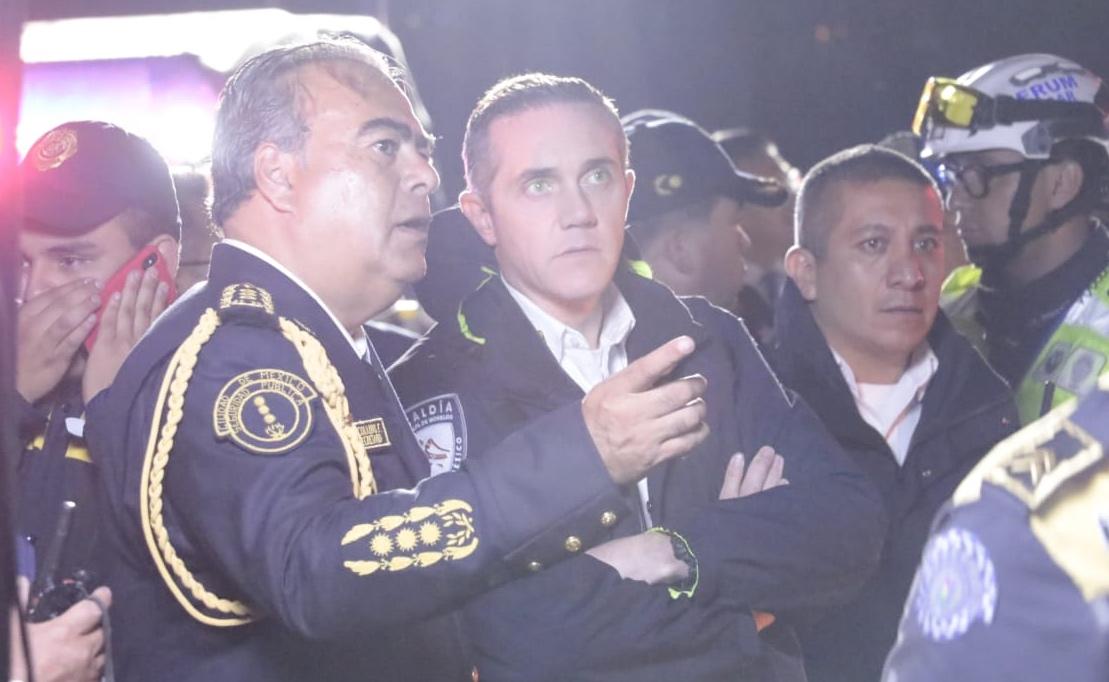 ACCIDENTE SOBRE LA CARRETERA TOLUCA-MÉXICO A LA ALTURA DE PATIO SANTA FE